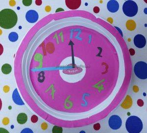 clock crafts for preschool