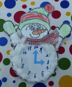 clock crafts for preschoolers
