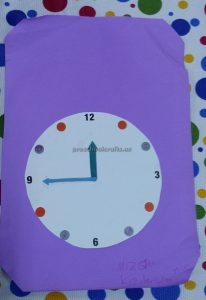 clock theme craft ideas for preschoolers