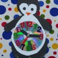 craft ideas related to clock theme for kids