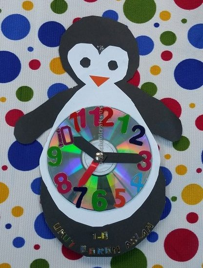 Clock craft ideas for preschool kids preschool and for Arts and crafts clocks for sale