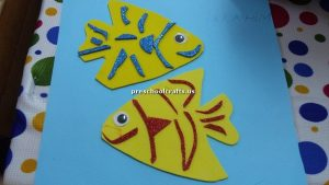 craft ideas related to fish for kindergarten