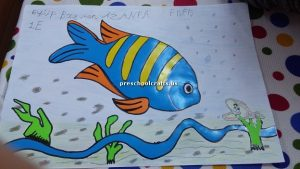 craft ideas related to fish for prechool