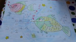 craft ideas related to fish theme