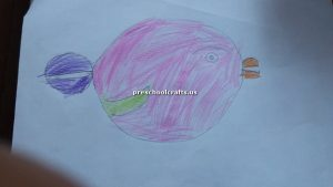 craft ideas related to fish theme for kindergarten