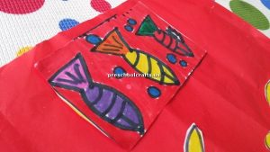 craft ideas related to fish theme for preschool teacher