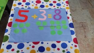 craft ideas related to numbers for preschool