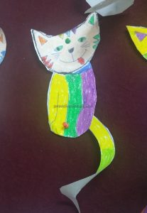 craft ideas to cat for preschool