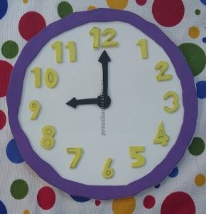 crafts related to clock theme