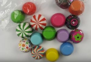 cupcake liners craft