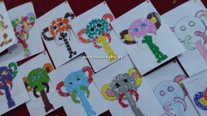 elephant bulletin board for firstgrade