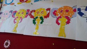elephant bulletin board for kids