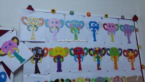 elephant bulletin board for pre school