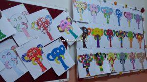 elephant bulletin board for preschooler