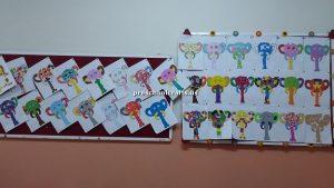 elephant bulletin board for preschoolers