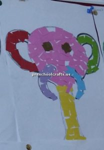 elephant craft ideas bulletin board