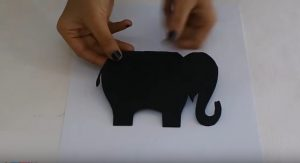 elephant craft making for kids