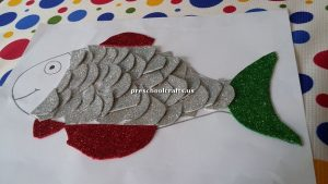 fish craft idea for preschoolers