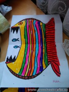 fish paper project ideas for kids
