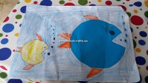 free fish theme craft for kids