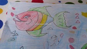 fish theme craft for preschool