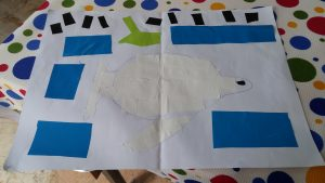 fish theme craft for preschoolers
