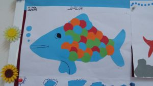 fish theme craft idea for firstgrade