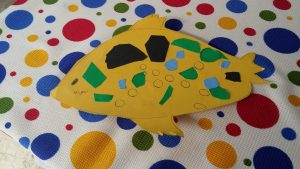 fish theme craft idea for kids