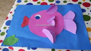 fish theme craft ideas for preschool