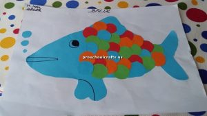 fish theme crafts for kids