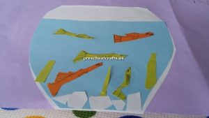 fish theme crafts for toddler