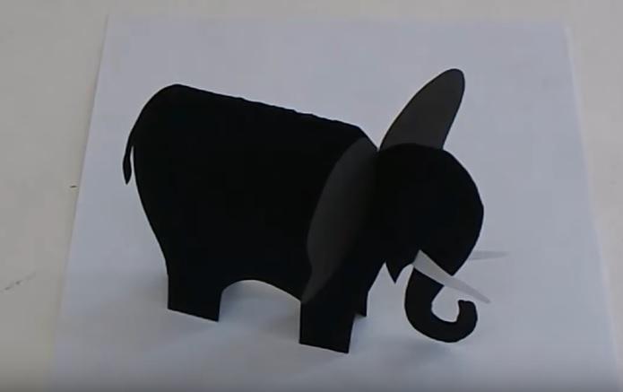 Calendar Preschool Crafts : How to make elephant craft for kids preschool crafts
