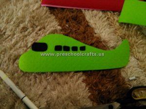 kindergarten airplane crafts