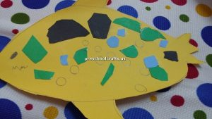 kindergarten craft idea fish