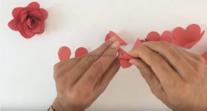 making rose craft ideas for pre school
