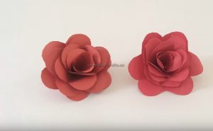 making rose craft ideas for preschool teachers
