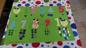 number crafts for preschoolers