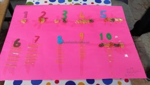 number crafts ideas for preschoolers