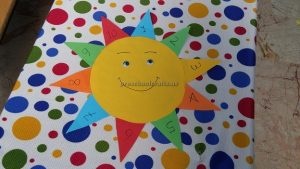 number sun craft ideas for preschool