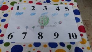 number theme craft for kids