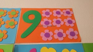 number theme crafts for preschool