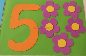 numbers crafts for preschool
