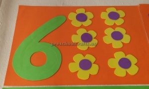 numbers theme craft ideas for preschool