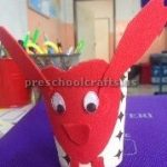 paper cup animal craft ideas for kindergarten