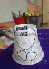 paper cup cat craft ideas