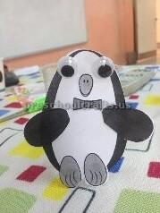 paper cup funny penguin craft ideas preschool