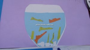 preschool crafts aquarium