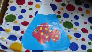 preschoolers crafts aquarium