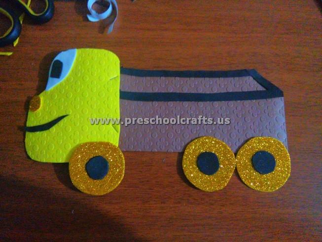 Truck Craft Ideas for Kids Preschool and Kindergarten