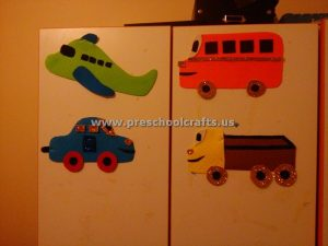 vehicles craft ideas